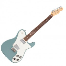 Fender American Professional Telecaster Deluxe Shawbucker Candy Sonic Grey R/N