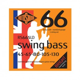 Rotosound Swing Bass RS66LD Set Stainless Steel 45-130