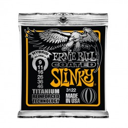 Ernie Ball Coated 3122