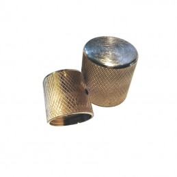 Solid Brass Telecaster Awesome Knobs Pair