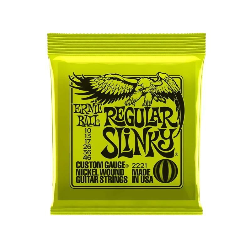 Ernie Ball Regular Slinky Molesounds guitar accessories