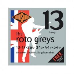 Rotosound R13 Roto Greys Nickel Strings 13-54 Heavy
