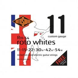 Rotosound R11-54 Roto Whites Nickel Strings 11-54