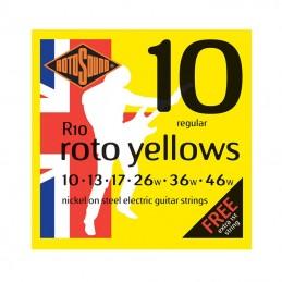 Rotosound Roto Yellows R10 String Set Nickel Wound 10-46