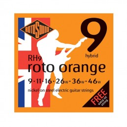 Rotosound RH9 Orange String Set Electric Nickel Wound 9-46