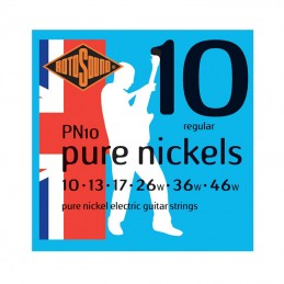 Rotosound PN10 Pure Nickels Electric Guitar Strings 10-46