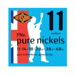 Rotosound PN11 Pure Nickels Electric Guitar Strings 11-48