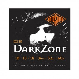 Rotosound DZ10 Dark Zone String Set Electric Nickel Wound 10-60