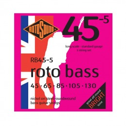 Roto Bass Rotosound RB45-5 Bass Strings Set