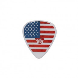 Pickboy GP784-100 USA Flag Celltex 1.00mm, Pack 5