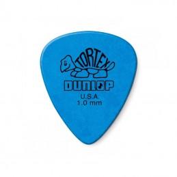 Jim Dunlop Tortex Standard Plectrums 1.00mm, Blue, 12 Pack