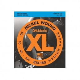 D'Addario EXL160 4 String Long Scale Bass Nickel Wound 50-105