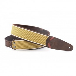Vegan Guitar Strap Tweed Mojo Series By RightOn