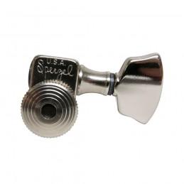 Sperzel Trim-Lok Locking Machine Heads Tuners Nickel 6 In Line