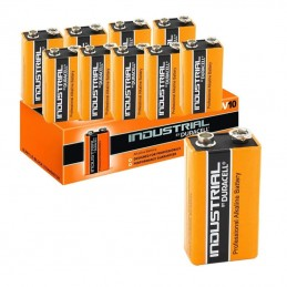 Duracell Industrial 9 Volt PP3 Pedal Battery (10 Pack)