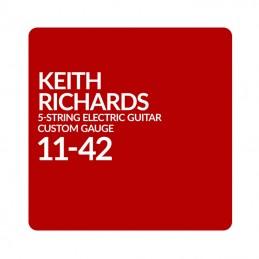 Ernie Ball Custom 5 String Set Inspired By Keith Richards