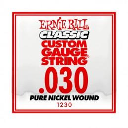Ernie Ball Classic Slinky Pure Nickel Single String .030