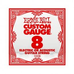 Ernie Ball Plain Steel Single String .008