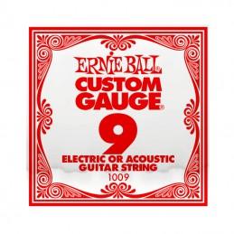 Ernie Ball Plain Steel Single String .009