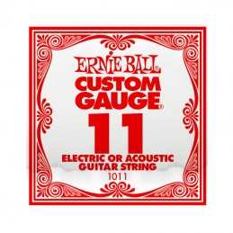 Ernie Ball Plain Steel Single String .011