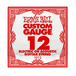Ernie Ball Plain Steel Single String .012