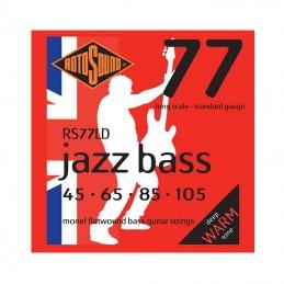 Rotosound Jazz Bass 77LD Electric Bass Monel Flatwound 45-105 Set