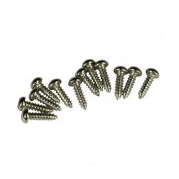 Kluson Tuners Fixing Screws (Bag 12) Nickel