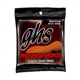 GHS Phospor Bronze Medium 13-56 Acoustic Guitar Strings