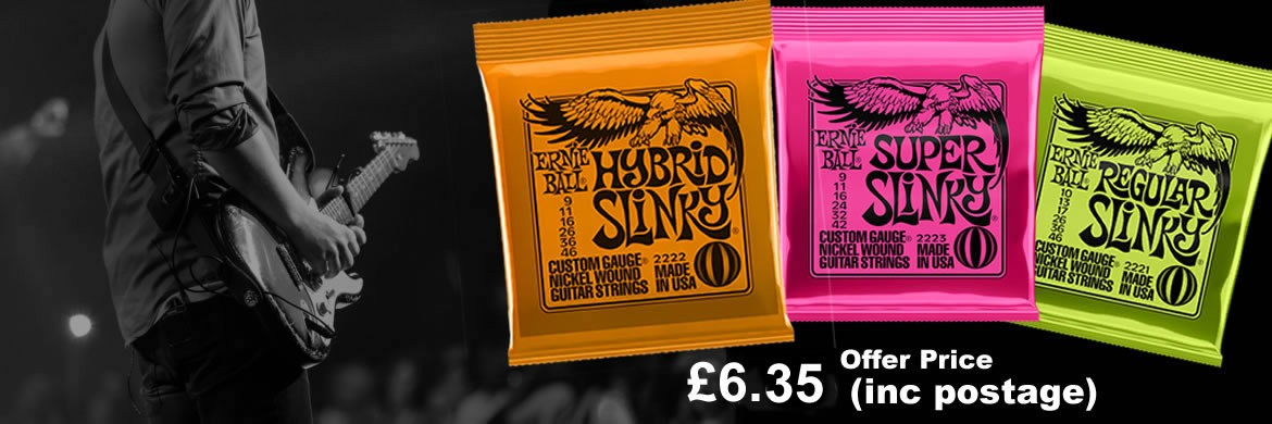 Ernie Ball Guitar Strings Special Price Offer