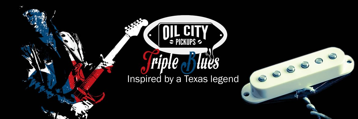 Oil City Triple Blues Pickups